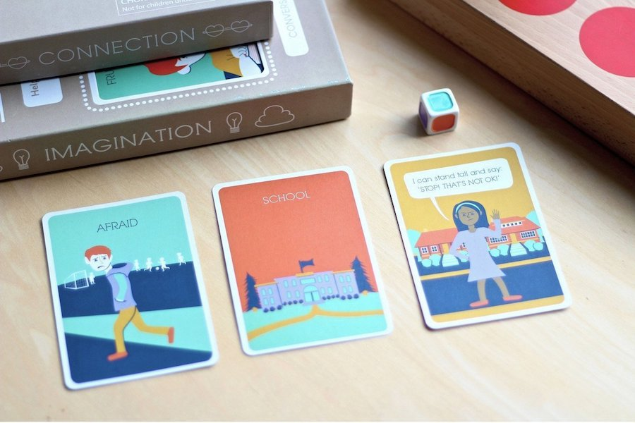 A penny for your thoughts? This new card game helps kids process those hard emotions.