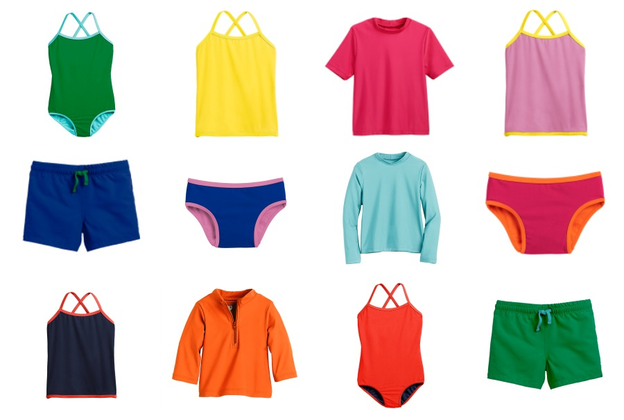 We found the most adorably modern, modest, mix-and-match swimsuits for kids. So many problems solved!