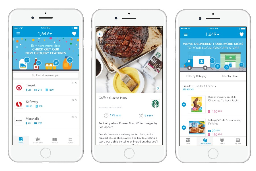 The Shopkick app just made it even easier to earn free gift cards while grocery shopping