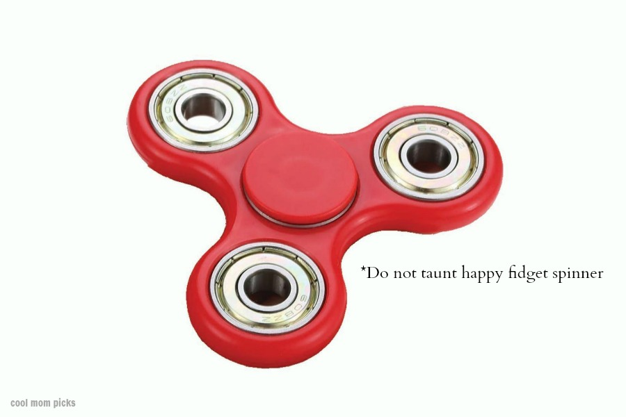 The danger of fidget spinners: Miniature death traps! Or…not.