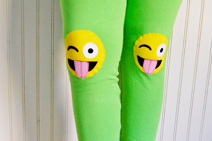 Emojis, sly cats, and other cool kids' leggings you won't see everywhere on the playground