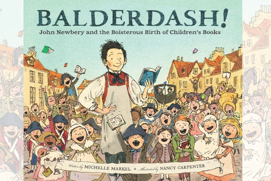 Who was John Newbery? This children's book makes finding out so fun.