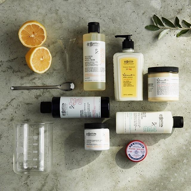 Last minute Father's Day gift ideas: Visit a favorite local indie shop, like CO Bigelow Chemist in NYC which carries their own line of fab sundries