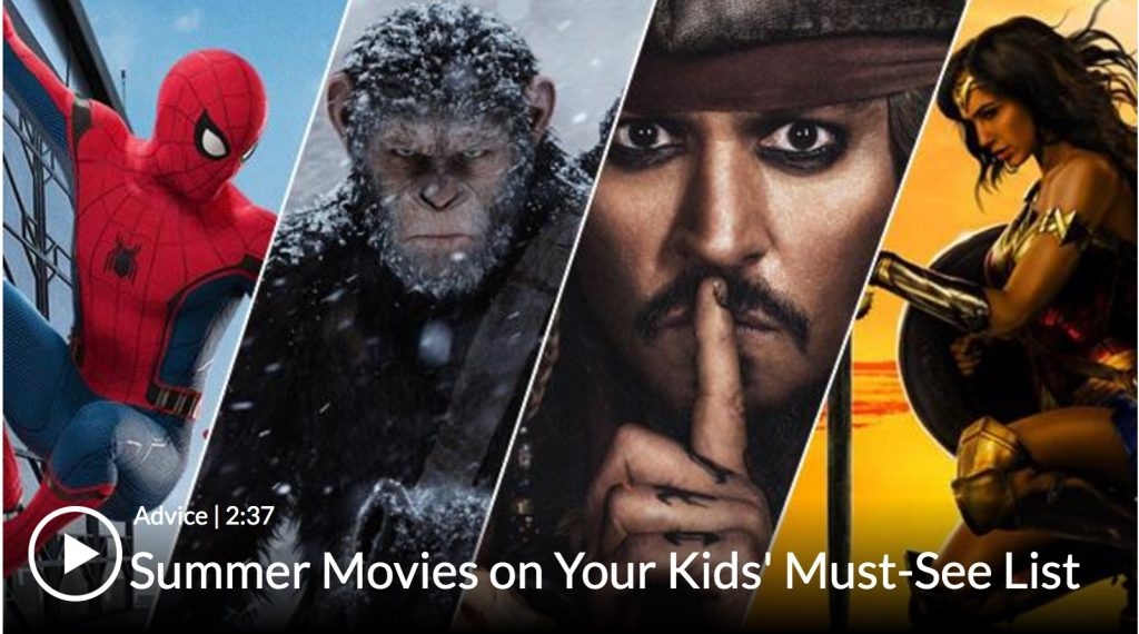 The 2017 Common Sense Media Summer 2017 Kids Movie Guide
