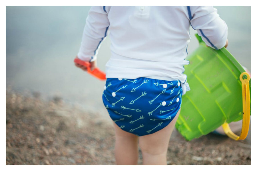 Too cool for the kiddie pool: We've got 5 of the cutest reusable swim diapers for boys.