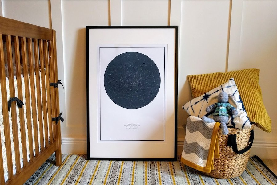 The Night Sky's custom star maps: The sweet, sentimental gift that's modern, never sappy.