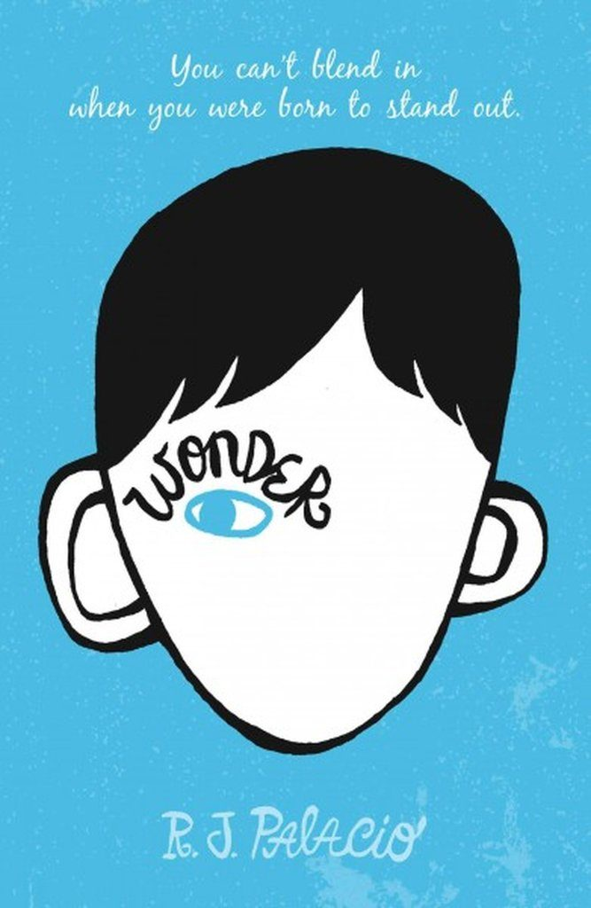 Children's books to read before they're made into movies: Wonder by R.J. Palacio