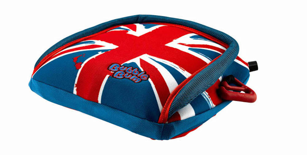 Booster seat comparison: BubbleBum inflatable seat