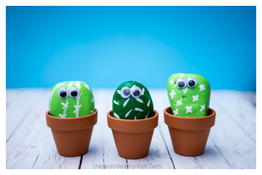 7 fun, not-so-prickly cactus crafts for kids that will endure in any climate.