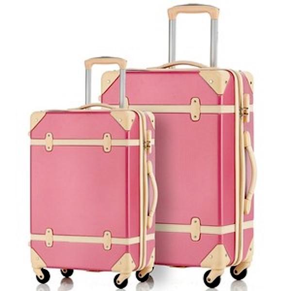 Cool kids' luggage: Vintage Suitcase by Merax Travelhouse