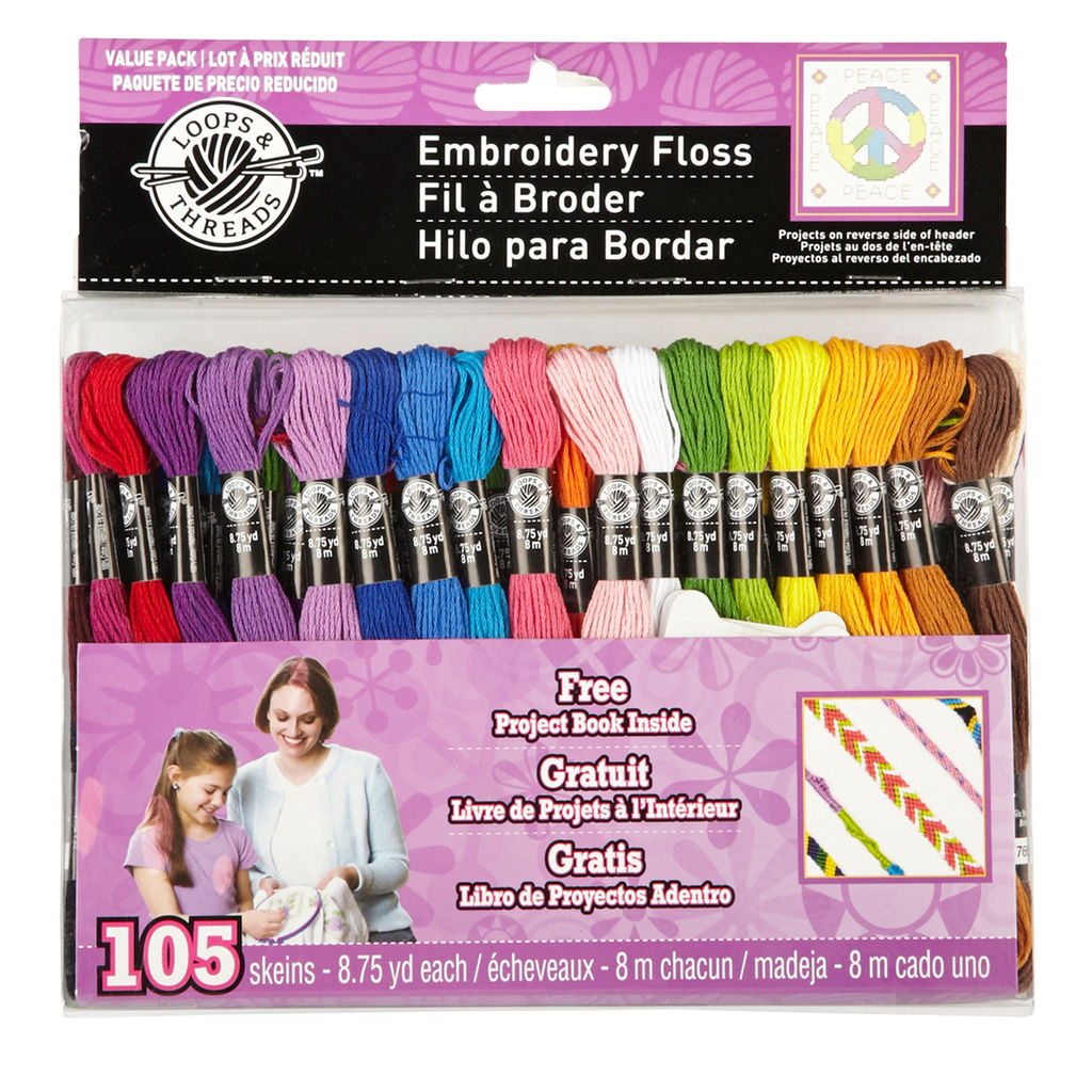 Creative camp care package ideas: Embroidery thread packs, enough for the whole bunk. | coolmompicks.com