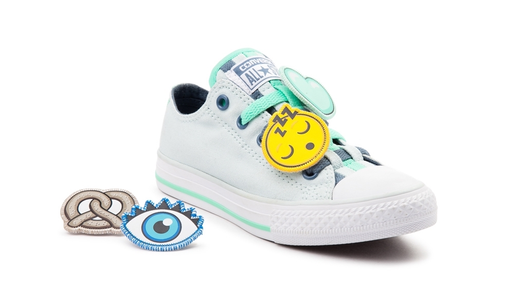 Emoji kids Converse sneakers! The coolest emoji gear and accessories for back to school | coolmompicks.com
