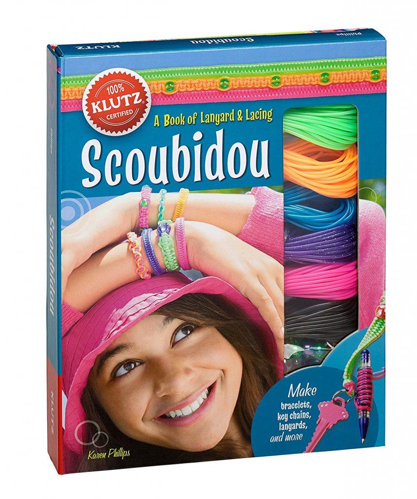 Creative care package ideas for summer camp: Klutz Scoubidou lanyard kit | coolmompicks.com