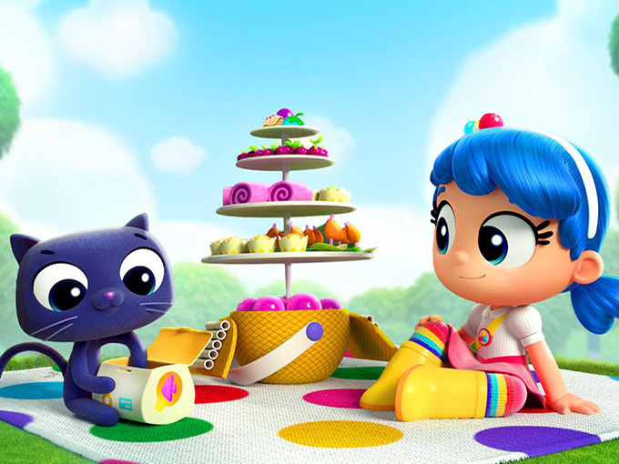 New on Netflix for families this month: True and the Rainbow Kingdom