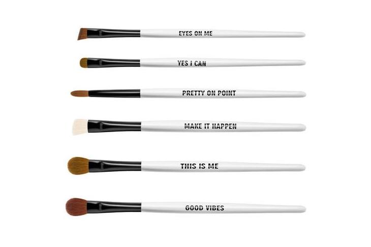 RealHer eyebrush set features wonderfully empowering messages for women, and donates 20% to a great cause | coolmompicks.com