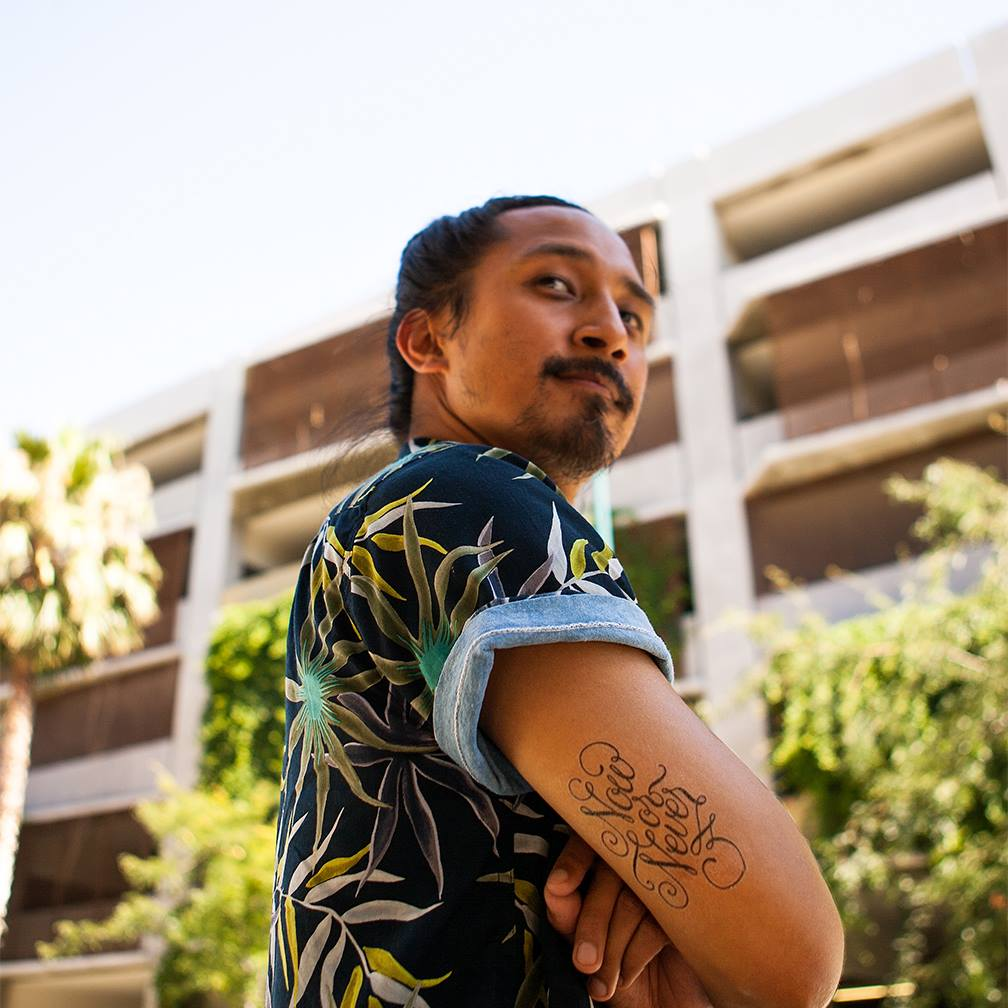 What does it mean to be American? Filipino-American choreographer Shaun Evaristo + Tattly tattoos