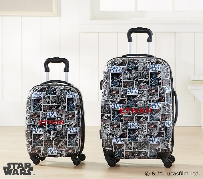 Star Wars kids' luggage on sale at PBK: Let them carry their own!