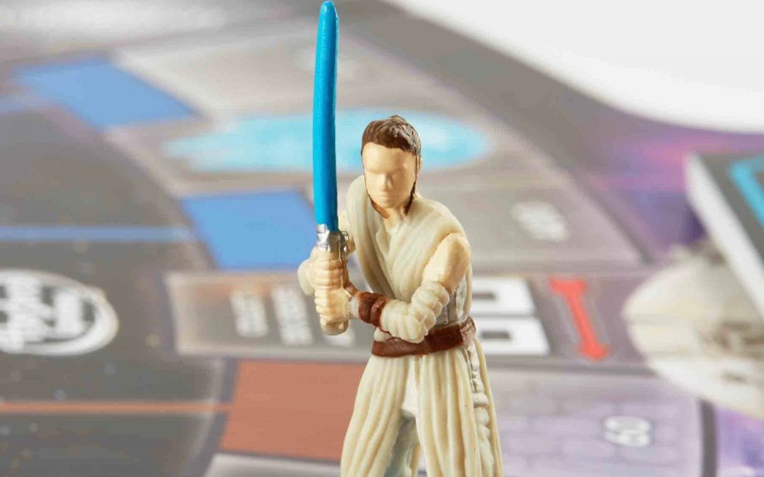 The Star Wars: A Force Awakens Monopoly set was missing Rey. Then one little girl changed that.
