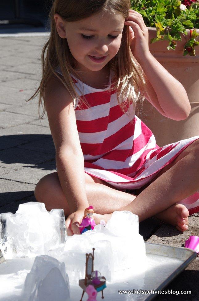 Summer ice activities: Ice Castles by Kids Activities Blog