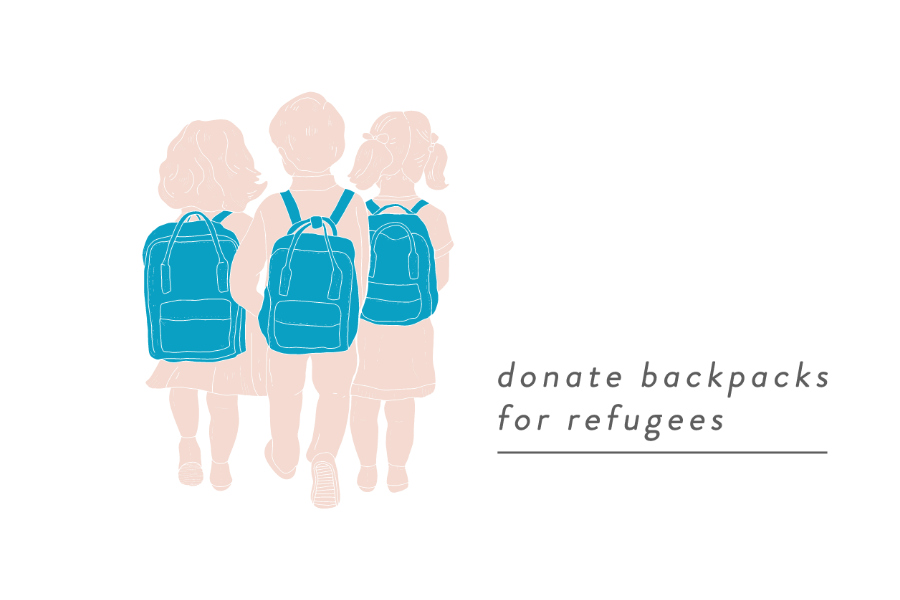 A simple way to help refugee children feel a little more confident on their first day of school in the U.S.