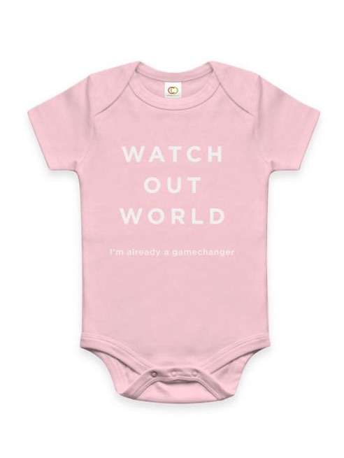 Watch out world: I'm already a game changer | great baby gift!
