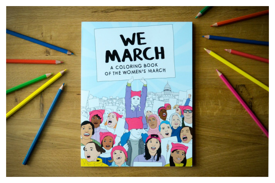 This Women's March coloring book is what democracy looks like.