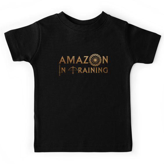 Amazon in Training Kids Tee | Cool Wonder Woman Gear | Back to School Shopping Guide 2017