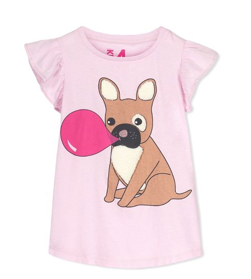 Bubble Gum Puppy Tee | Cutest Animal School Supplies | back to school shopping 2017