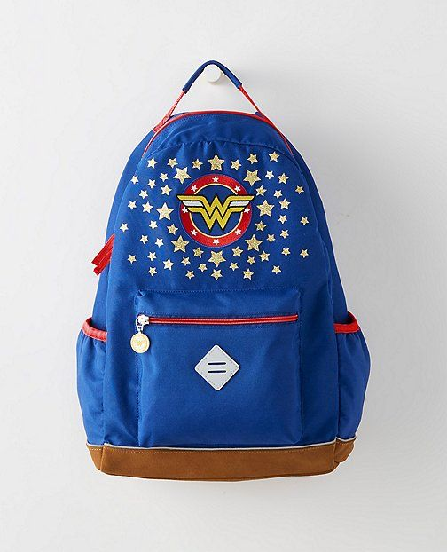 Wonder Woman Backpack at Hannah Anderson | Cool Mom Picks Back to School Shopping Guide 2017