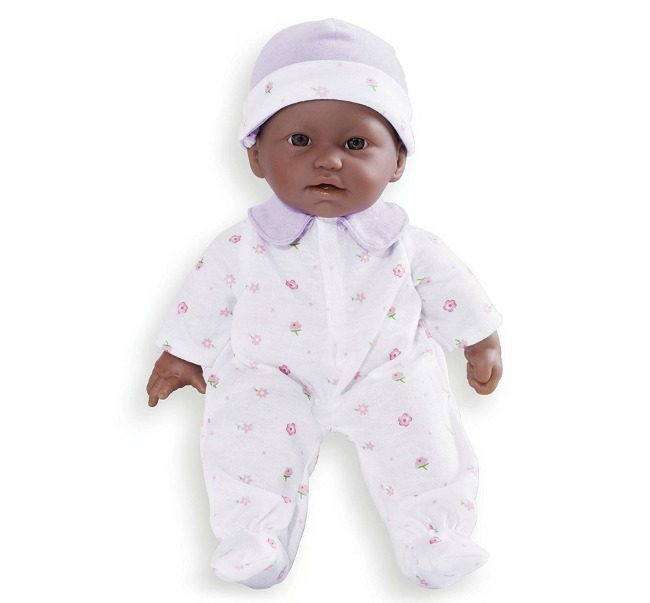 Birthday gift ideas for preschoolers under $15: La Baby Soft Baby Doll