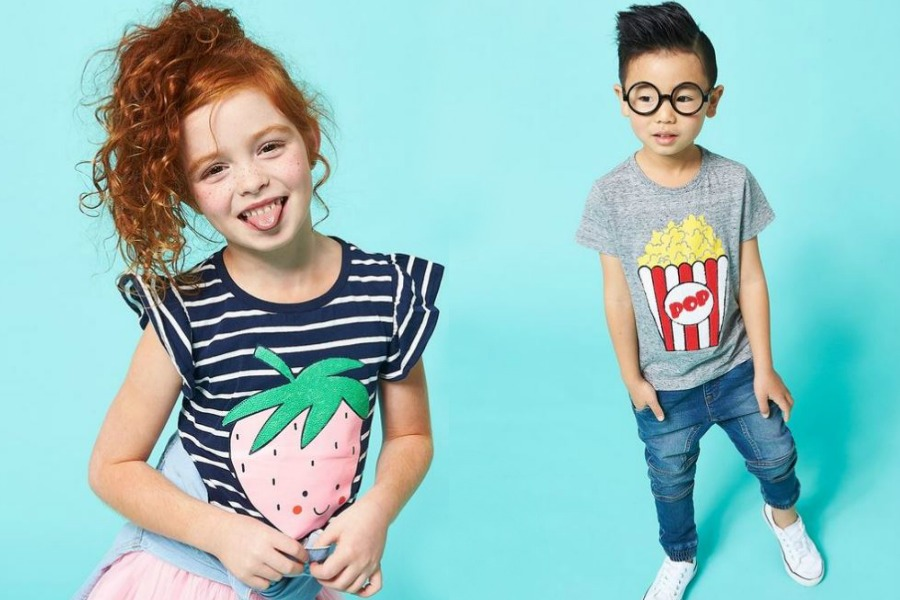Scratch n' sniff tees for kids! That probably smell better than our actual kids!