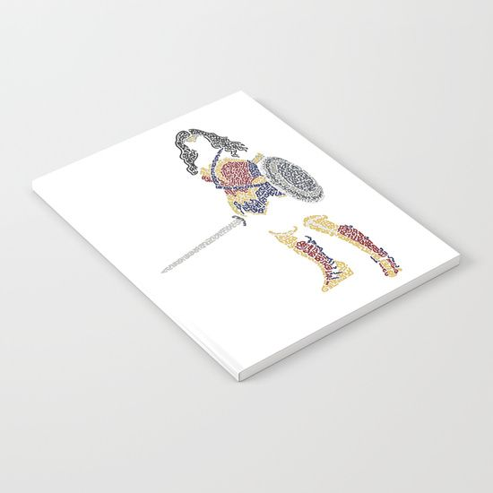 Warrior Wonder Woman Lined Notebook   | Cool Mom Picks Back to School Shopping Guide 2017