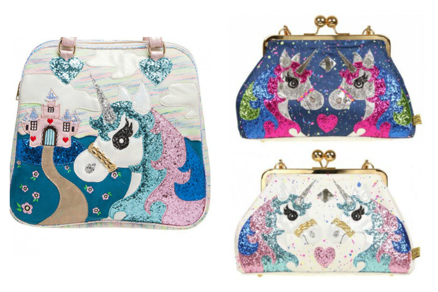 Irregular Choice makes some fantastic unicorn purses like these three, at great prices