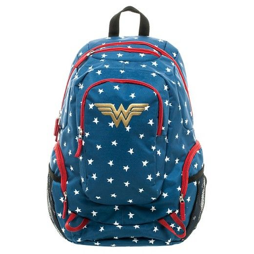 Wonder Woman Commuter Backpack   | Cool Mom Picks Back to School Shopping Guide 2017