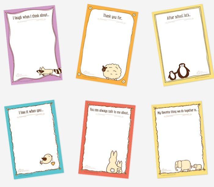Animal lunchbox notes set | Cool Mom Picks back to school shopping 2017