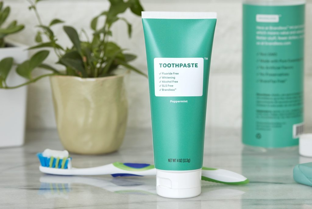 Brandless peppermint toothpaste review: Why it's a great buy for just $3!
