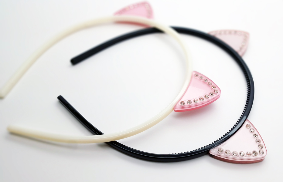 Cat Ear Headbands from Adelaide NYC