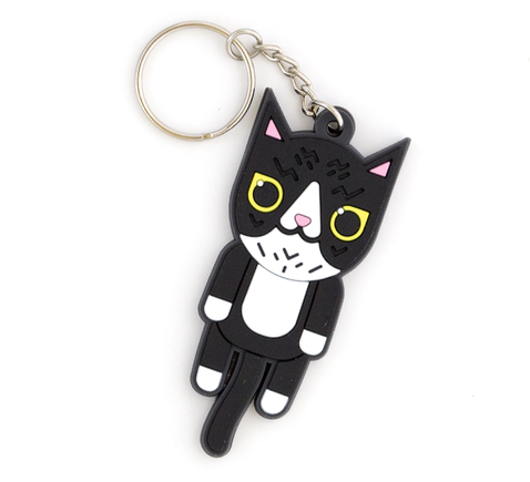 Soft cat keychain: Cool back to school supplies and accessories under $10