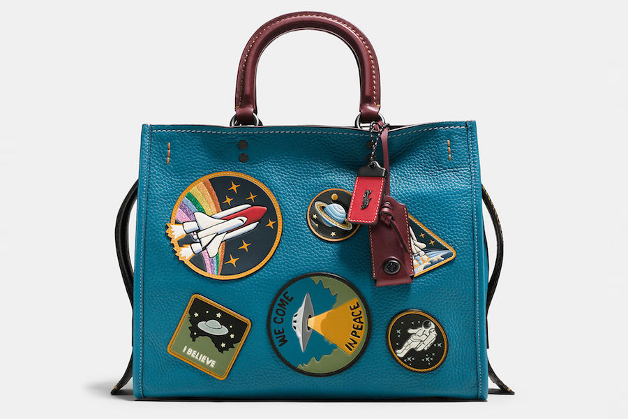Coach's space-themed bags and wallets are out of this world. (Yeah, we said it.)