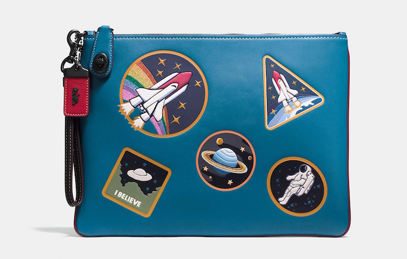 Coach Space collection: Turnlock Wristlet