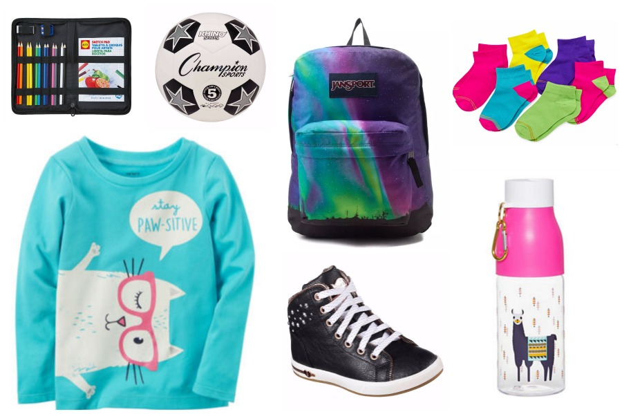 Cool back to school gear for girls at great prices | cool mom picks back to school shopping guide