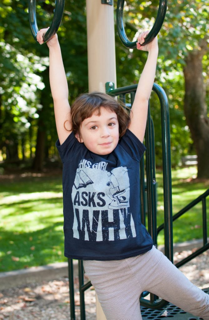 Cool, smart slogan t-shirts for kids: Why Tee by This Girls Tees