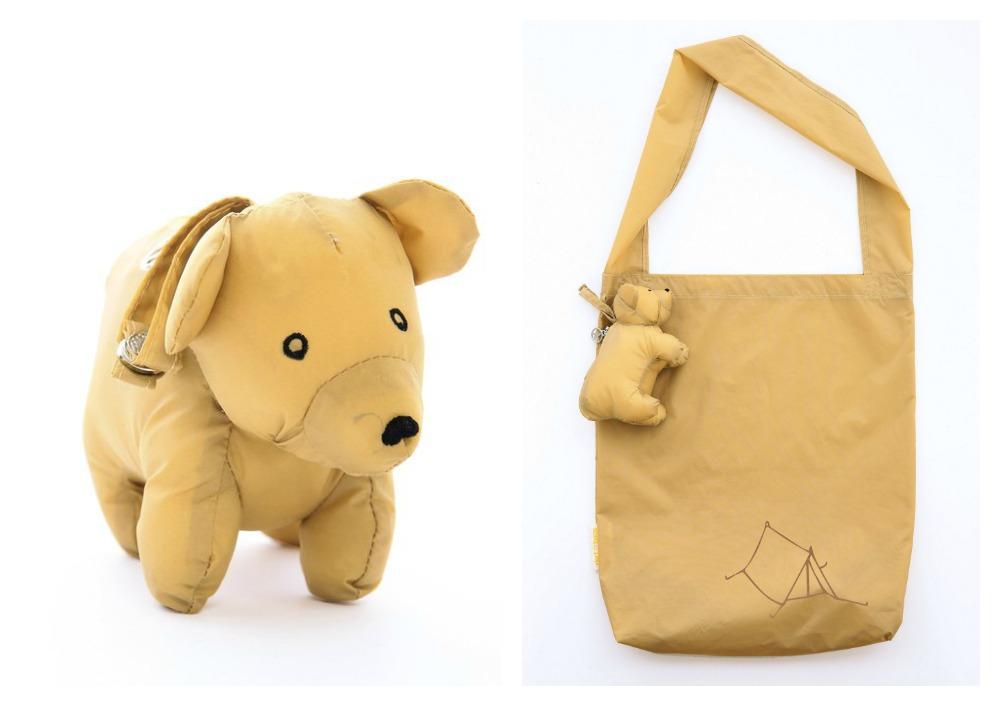 Dert reusable shopping bags | Bear