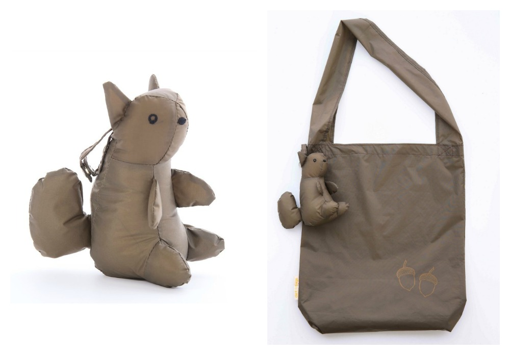 Dert reusable shopping bags | Squirrel