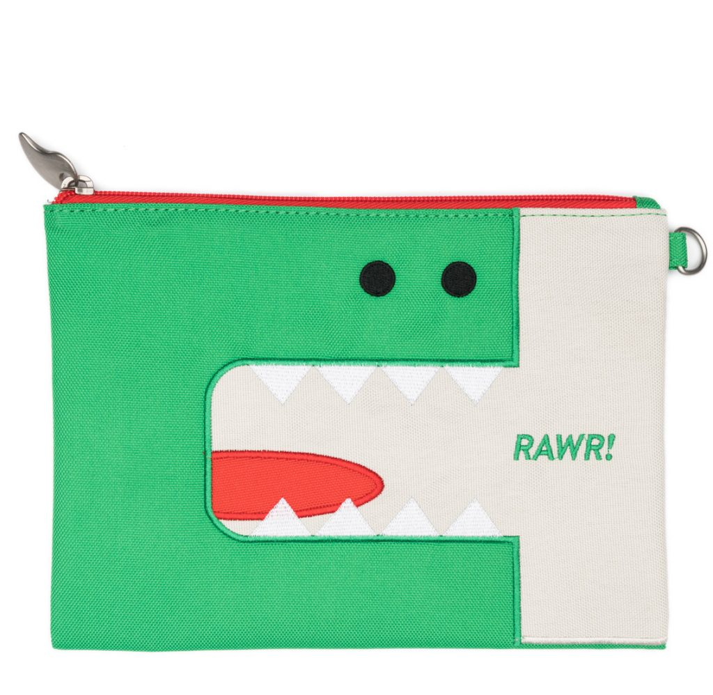 Dinosaur pencil pouch | Cool Mom Picks back to school shopping 2017