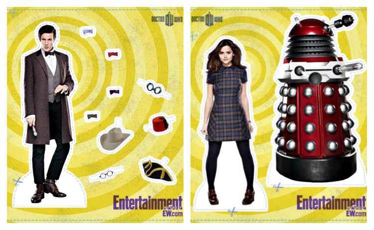 Doctor Who Paper Dolls by Entertainment Weekly