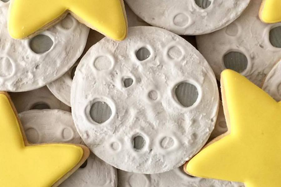 Moon Cookies by Oh Sugar Events