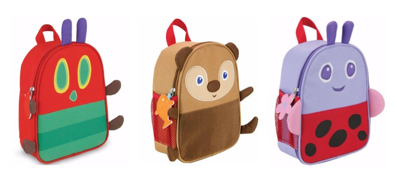 Eric Carle lunch bags for preschool at JCPenney: Brown Bear, Ladybug, and the Very Hungry Caterpillar