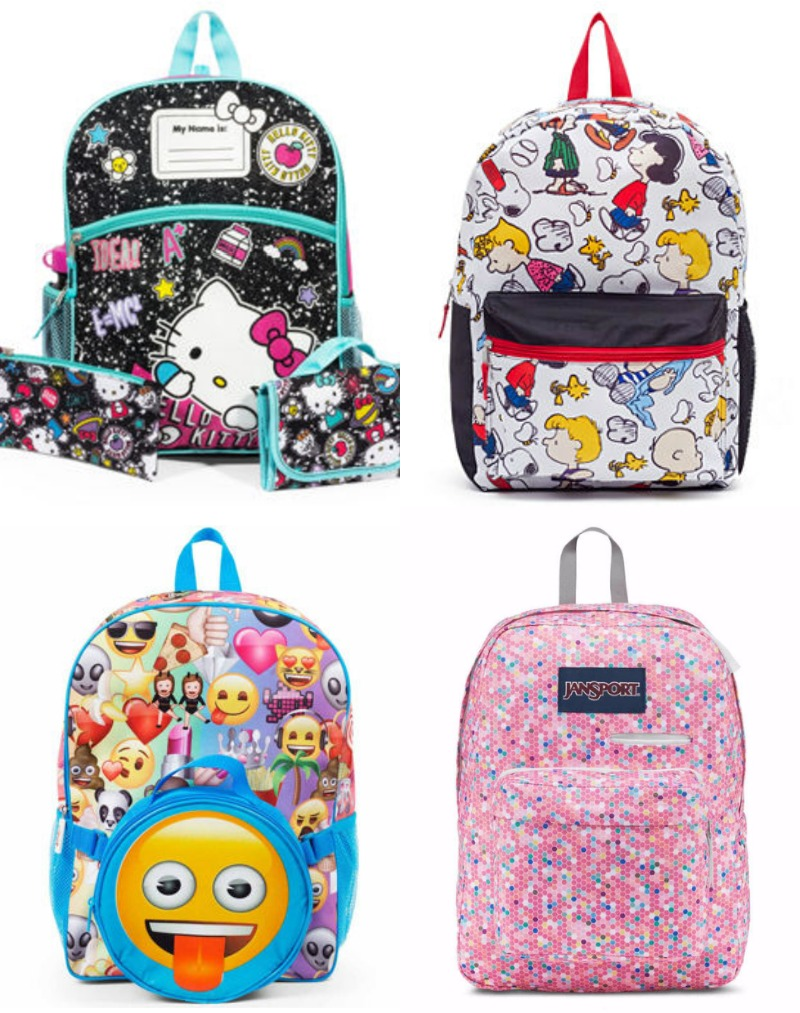 Cool grade school backpacks at JCPenney | cool mom picks back to school 2017
