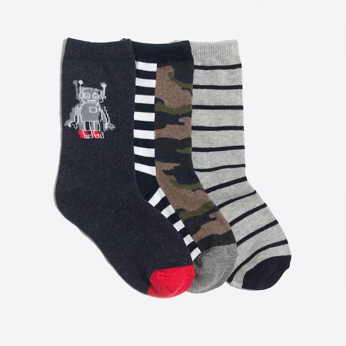 J.Crew Factory sale: Camo Robot Trouser Socks